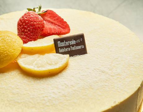 Bavarese al prosecco e limone